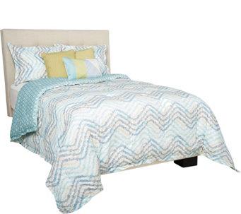 Scott Living Casadia 5 Piece Reversible Twin Comforter Set   H212128