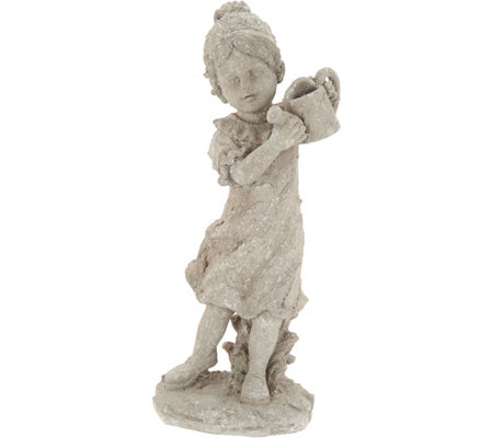 "16.5"" Indoor/Outdoor Boy or Girl Garden Acccents by Valerie"