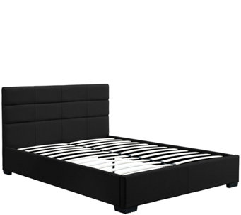 signature sleep modena upholstered queen bed h285730