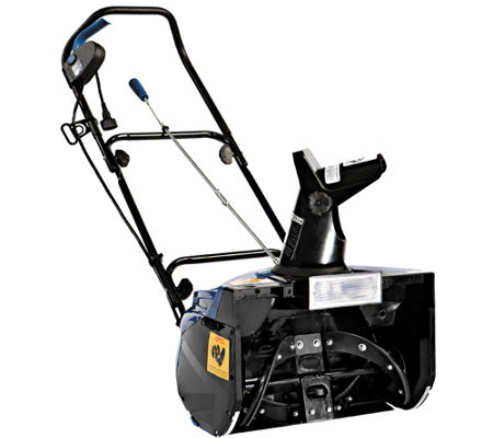 "Snow Joe 18"" 13.5-Amp Electric Snow Blowerwith Light"
