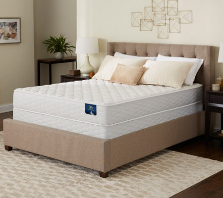 Serta Tahoma Firm Twin XL Mattress Set — QVC