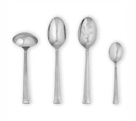 Lenox Eternal Frosted Flatware 4 Piece HostessSet