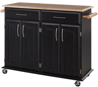 Home Styles Dolly Madison Kitchen Island Cart - H156229