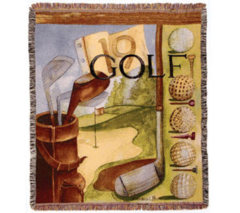 Vintage Golf Throw by Simply Home - H188029