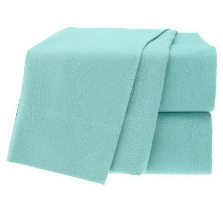 northern nights ana full 100 supima cotton flannel sheet set