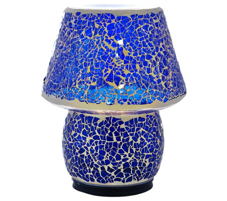 Mosaic Illuminated Indoor/Outdoor Accent Lamp by Valerie