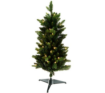 """As Is"" Bethlehem Lights 40"" Stake Tree with Lights - H208229"