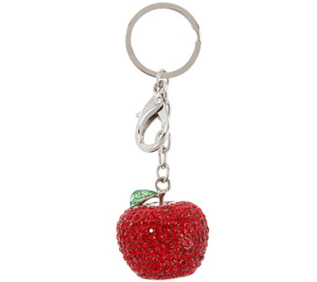 Killarney Crystal Fruit Keychain