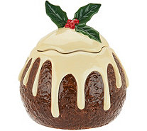 "Casa Zeta-Jones 8"" Holiday Cookie Jar - H213829"