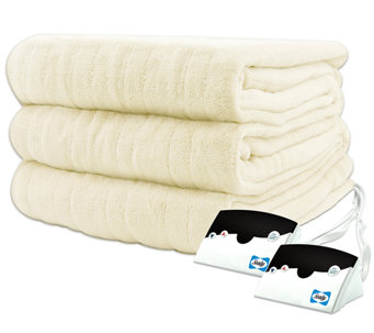 Biddeford Microplush Queen Size Heated Blanket - H282429