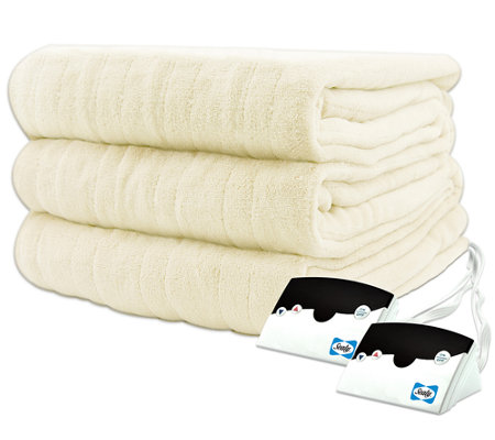 Biddeford Microplush Queen Size Heated Blanket