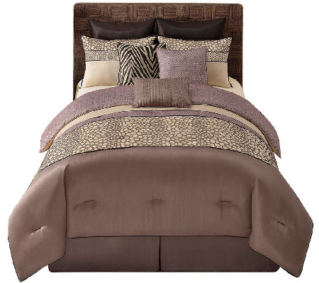 VCNY Home Mali 9-Piece Cal King Comforter Set