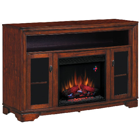 Twin Star Palisades TV/Media Mantel Fireplace with Remote