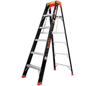 Little Giant MicroBurst 6' Fiberglass Ladder - H287829