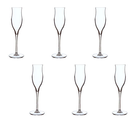 Luigi Bormioli 3.5-oz Vinoteque Grappa Glasses- Set of 6