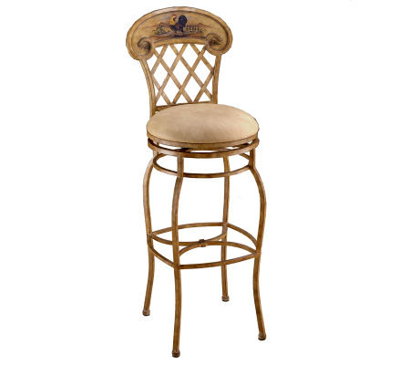 Hillsdale House Rooster Swivel Bar Stool