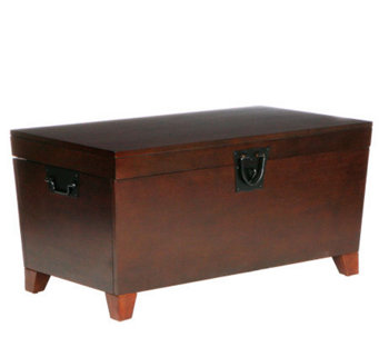 Home Reflections Espresso Pyramid Coffee TableTrunk - H169630