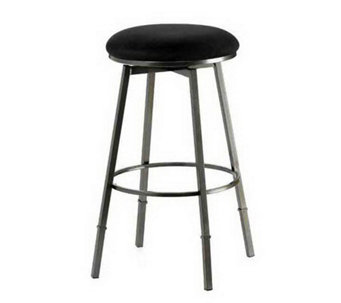 Hillsdale Furniture Sanders Adjus. Backless Swivel Bar Stool - H174130
