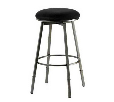 Hillsdale Furniture Sanders Adjus. Backless Swivel Bar Stool