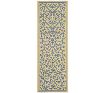"Safavieh Courtyard Heirloom Gate 2'4"" x 6'7"" Rug - H179030"