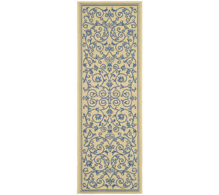 "Safavieh Courtyard Heirloom Gate 2'4"" x 6'7"" Rug"