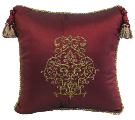 Qvc Decorative Pillows : Veratex Glenaire 18