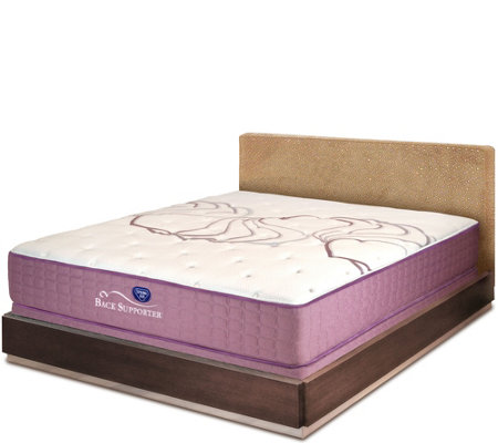 "Spring Air Sleep Sense 13"" Plush Queen Mattress Set"