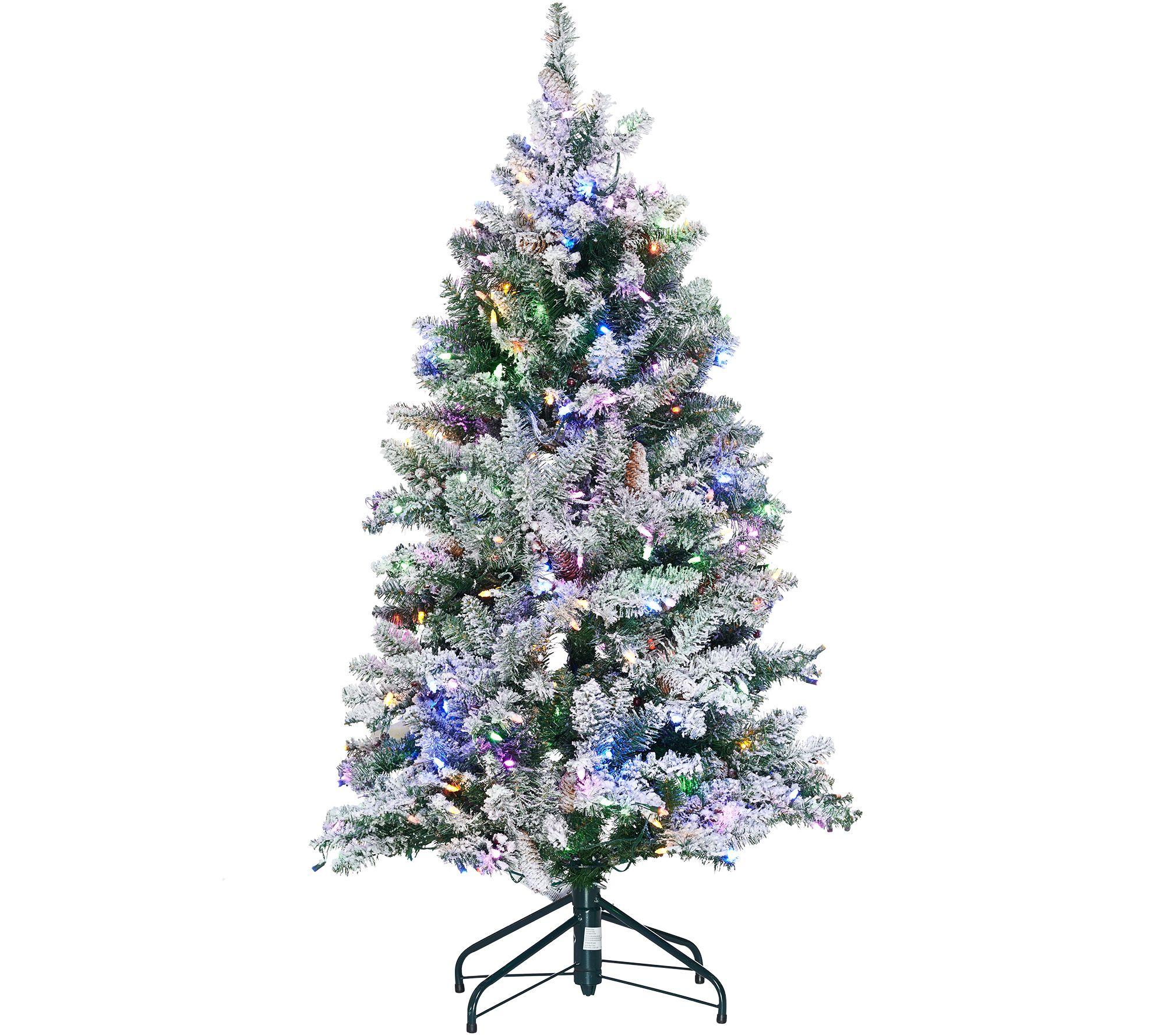 ED On Air Santa's Best 5' Frosted Simon Tree by Ellen DeGeneres ...