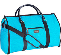 Biaggi 2-in-1 Garment Bag and Duffle Bag by Lori Greiner - H209930