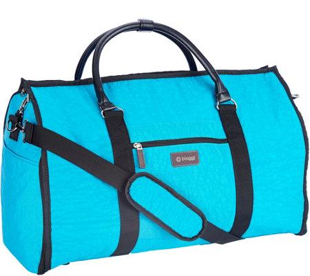 Biaggi 2 in 1 garment bag and duffle bag by lori greiner for Wedding dress garment bag for air travel