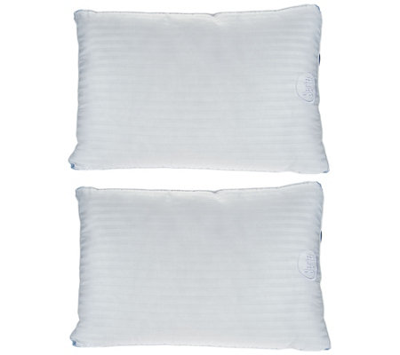 "Serta Perfect Day 2-pack Bed Pillow with 2"" Gusset"