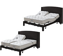 Sleep Number QSeries 5.1 SK or FlexTop Mattress Set w/ ADAT & Adj Base - H210630