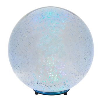 8 Illuminated Mercury Glass Indoor/Outdoor Wireless Sphere by Valerie