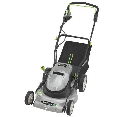 "Earthwise 20"" Cordless 24V Electric Mower"