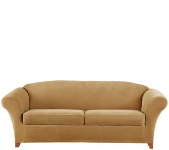 Sure Fit Stretch Pique 2 Seat Sofa Slipcover   H289530