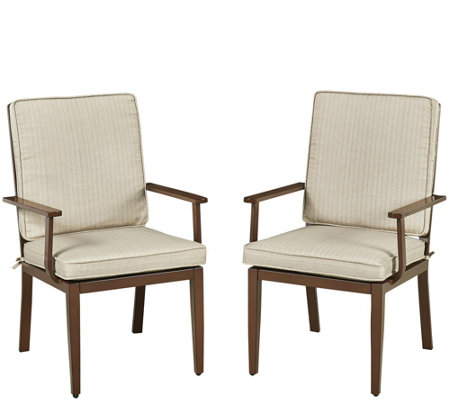 South Beach Set of 2 Arm Chairs