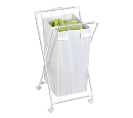 Honey-Can-Do Steel Folding Single Hamper