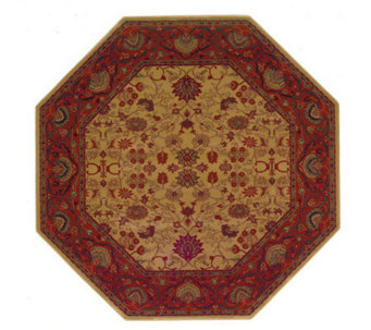 "Couristan 5'3"" Everest ""Tabriz"" Octagonal Rug - H160331"