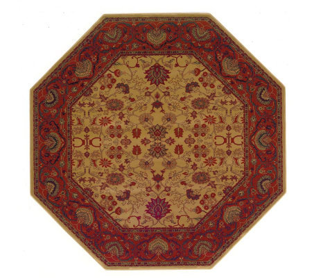 "Couristan 5'3"" Everest ""Tabriz"" Octagonal Rug"