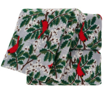 Malden Mills TW Polarfleece Holiday Printed Sheet Set - H205231