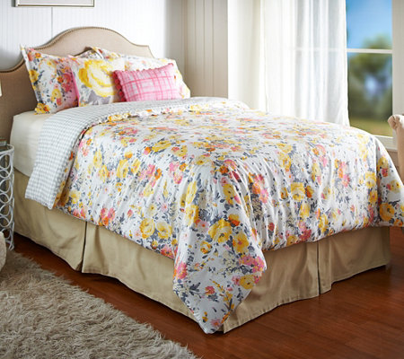 Isaac Mizrahi Live! Home 5-Pc Floral King Comforter Set