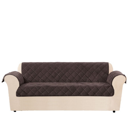Sure Fit Sofa Textured Pique Waterproof Furniture Cover