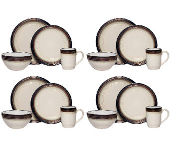 Mikasa Gourmet Basics Bailey 16-pc Dinnerware Set - H283931