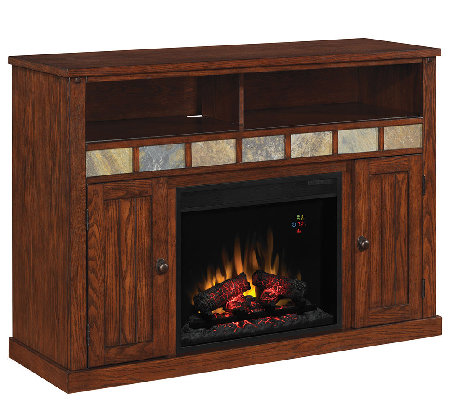 Twin Star Sedona TV/Media Mantel Fireplace withRemote