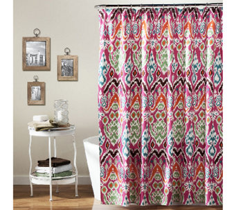 Jaipur Ikat Shower Curtain by Lush Decor - H287631