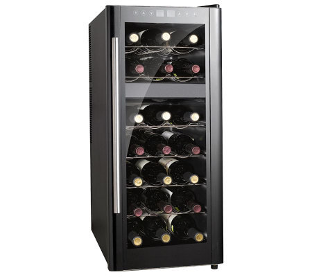 SPT 21-Bottle Wine Cooler Dual Zone with Heating