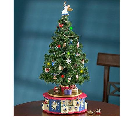 mr christmas advent musical tree by 1 800 flowers - Mr Christmas Tree