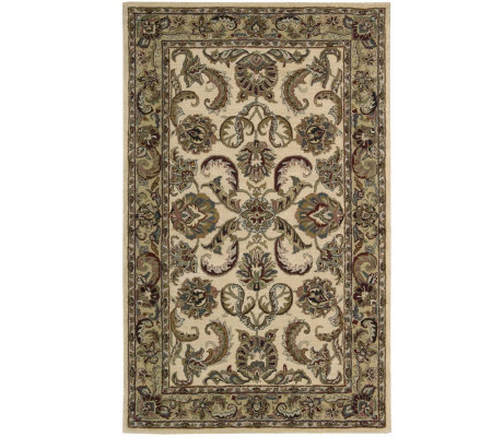 Nourison 5' x 8' Updated Persian Design Handtufted WoolRug