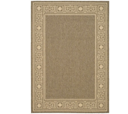 "Safavieh Courtyard Greek Revival 6'7"" x 9'6"" Rug"