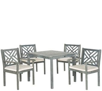 Safavieh Bradbury 5 Piece Outdoor Dining Set